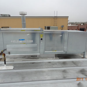 MODULATING OUTDOOR GAS FURNACE