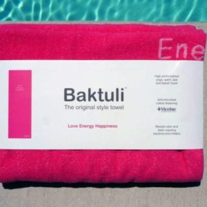 Baktuli Love Yoga Towel