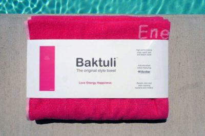 Baktuli Love Yoga Towel